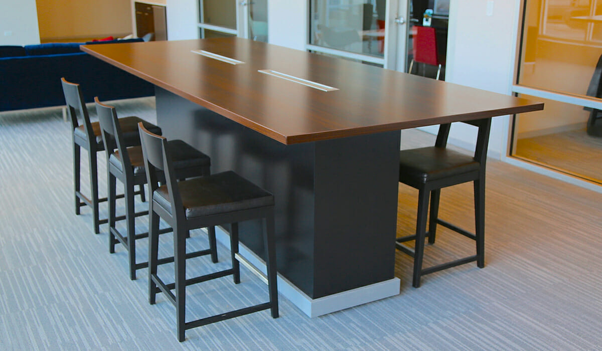 furniture table installation rooms tables chicago conference products design manufacturing room