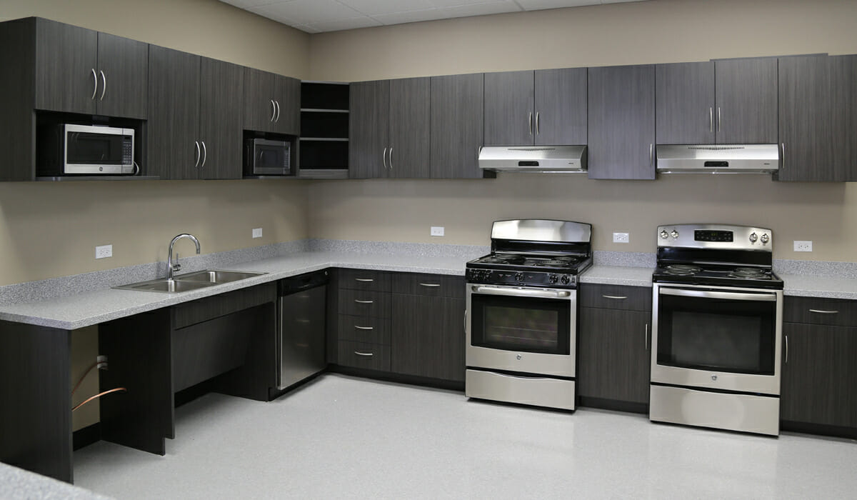 Kitchen Breakroom Millwork Design Manufacturing Installation Services Chicago
