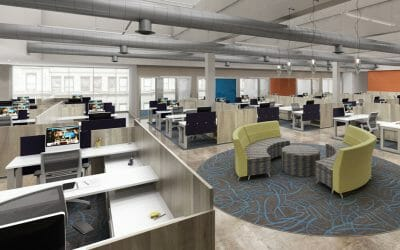 Office Design: Productivity Goes Up When Walls Come Down
