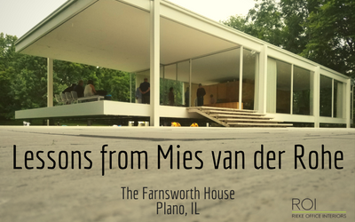 Lessons from Mies van der Rohe