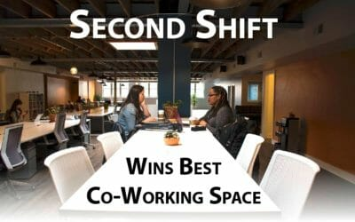 Bon Our Client SECOND SHIFT, Wins Best Co Working Space