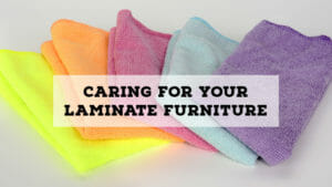 clean laminate office furniture