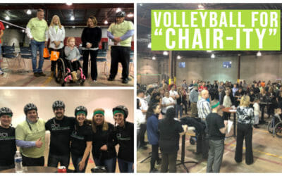 Volleyball for Chair-ity Breaks a New Record!