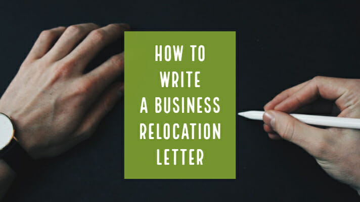 business relocation letter